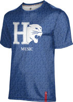 Prosphere Mens Sublimated Tee Music