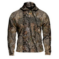 South Carolina Gamecocks Under Armour Fleece Camo Hood