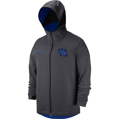 Nike College Dri Fit Showtime MenS Full Zip Hoodie