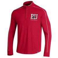 Charged Cotton Piped Quarter Zip