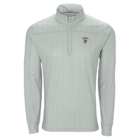 Vansport Mens Pro Herringbone Quarter  Zip Pullover