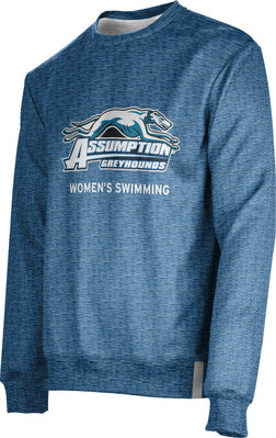Womens Swimming ProSphere Sublimated Crew Sweatshirt