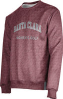 Womens Golf ProSphere Sublimated Crew Sweatshirt (Online Only)