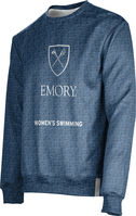 Womens Swimming ProSphere Sublimated Crew Sweatshirt (Online Only)