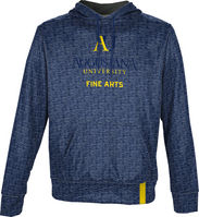 College of Fine Arts ProSphere Mens Sublimated Hoodie