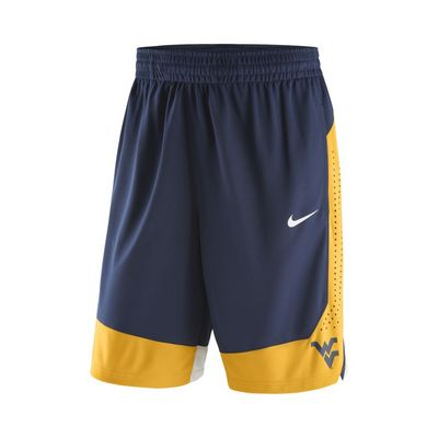 WEST VIRGINIA COLORED ATHLETIC SHORTS