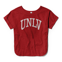Red Shirt Athleisure Cuffed T Shirt