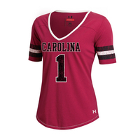 Under Armour Womens Legacy Stripe Tee