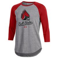 Under Armour Womens Charged Cotton Baseball T Shirt