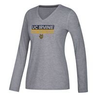 Adidas Womens Long Sleeve Ultimate V Neck T Shirt
