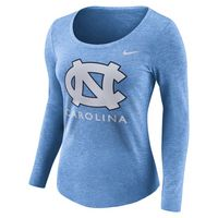 Nike Tri Blend Long Sleeve Scoop Tee