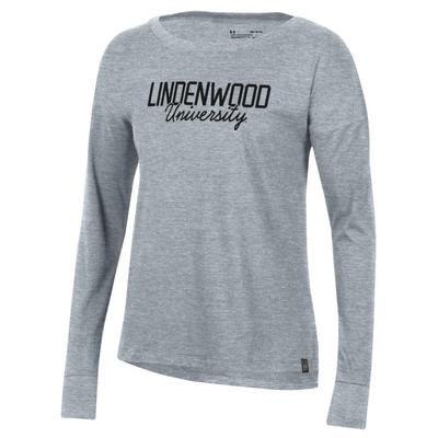 Under Armour Performance Cotton Long Sleeve Sports Style T Shirt