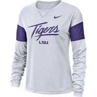 Nike College Breathe Long Sleeve Tee
