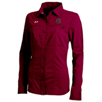 Under Armour Womens Sideline Contender Full Button