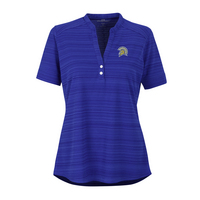 Vansport Womens Strata Textured Henley Polo