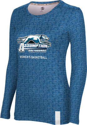 Womens Basketball ProSphere Sublimated Long Sleeve Tee