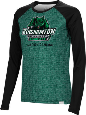 Ballroom Dancing Spectrum Womens Sublimated Long Sleeve Tee