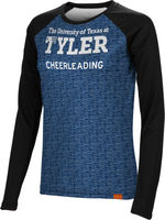 Cheerleading Spectrum Womens Sublimated Long Sleeve Tee (Online Only)
