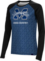 Cross Country Spectrum Womens Sublimated Long Sleeve Tee
