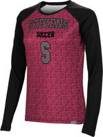 Soccer Spectrum Womens Sublimated Long Sleeve Tee