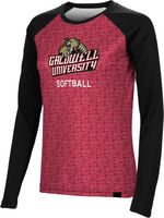 Softball Spectrum Womens Sublimated Long Sleeve Tee