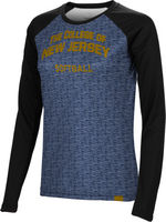 Softball Spectrum Womens Sublimated Long Sleeve Tee (Online Only)