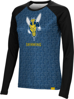 Swimming Spectrum Womens Sublimated Long Sleeve Tee