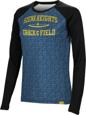 Track & Field Spectrum Womens Sublimated Long Sleeve Tee