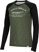 Volleyball Spectrum Womens Sublimated Long Sleeve Tee