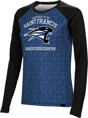 Womens Cross Country SpectrumSublimated Long Sleeve Tee