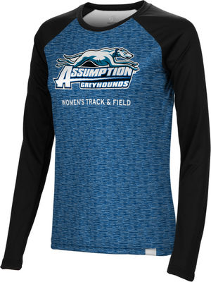 Womens Track & Field Spectrum Sublimated Long Sleeve Tee