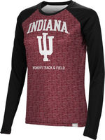 Womens Track & Field Spectrum Sublimated Long Sleeve Tee (Online Only)
