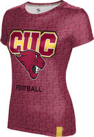Prosphere Womens Sublimated Tee  Football (Online Only)