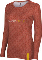 Valencia College Womens ProSphere Sublimated Long Sleeve Tee