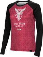 Mom Spectrum Womens Sublimated Long Sleeve Tee (Online Only)