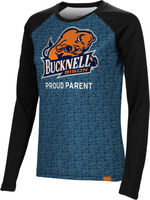 Proud Parent Spectrum Womens Sublimated Long Sleeve Tee (Online Only)