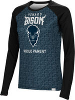Proud Parent Spectrum Womens Sublimated Long Sleeve Tee