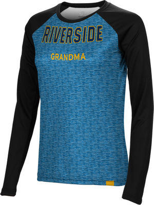 Grandma Spectrum Womens Sublimated Long Sleeve Tee