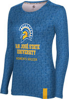 Womens Soccer ProSphere Sublimated Long Sleeve Tee (Online Only)
