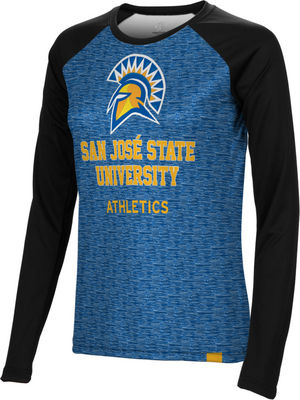 Athletics Spectrum Womens Sublimated Long Sleeve Tee (Online Only)