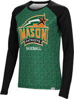 Baseball Spectrum Womens Sublimated Long Sleeve Tee (Online Only)