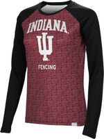 Fencing Spectrum Womens Sublimated Long Sleeve Tee (Online Only)