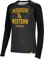 Football Spectrum Womens Sublimated Long Sleeve Tee (Online Only)