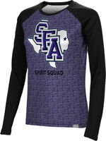 Spirit Squad Spectrum Womens Sublimated Long Sleeve Tee (Online Only)