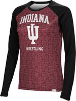 Wrestling Spectrum Womens Sublimated Long Sleeve Tee (Online Only)
