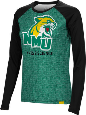 Arts & Science Spectrum Womens Sublimated Long Sleeve Tee