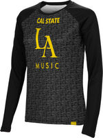 Music Spectrum Womens Sublimated Long Sleeve Tee
