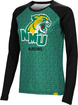 Nursing Spectrum Womens Sublimated Long Sleeve Tee