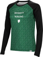 Nursing Spectrum Womens Sublimated Long Sleeve Tee (Online Only)
