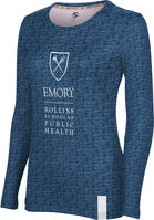 School of Public Health ProSphere Womens Sublimated Long Sleeve Tee